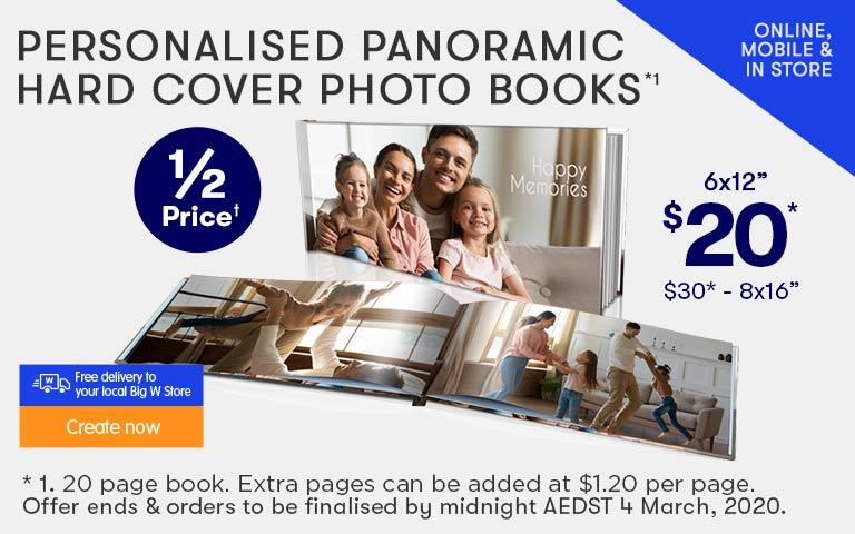 Home 3 - Hard Cover Photo Books offer - ends 29.01.20