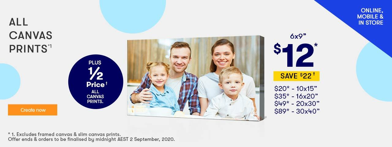 Home 1 - Canvas Offer - ends 2.09.20