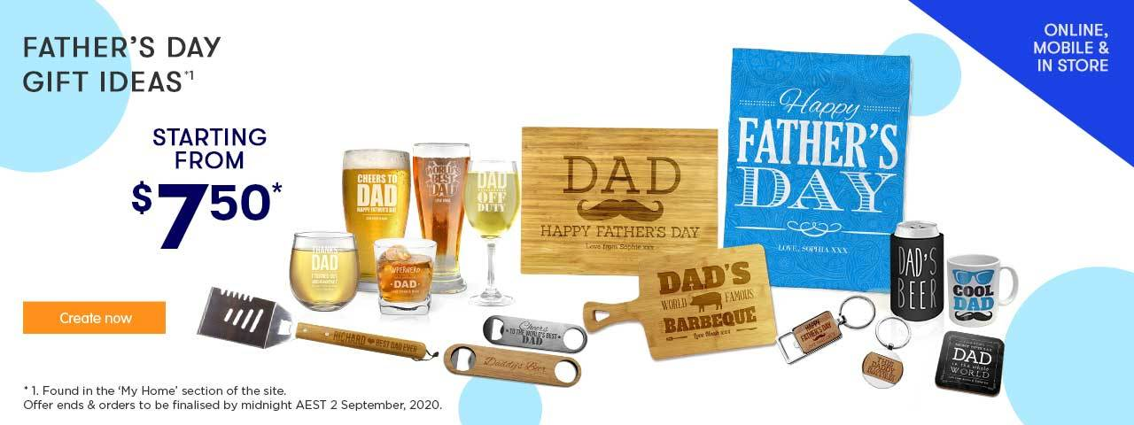 Home 5 - Fathers Day offers - ends 2.09.20