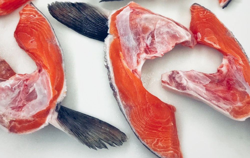 Salmon Collars (Spring Catch)