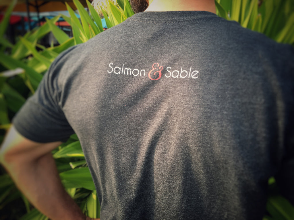 T-Shirt - Single Salmon Art (All Season)