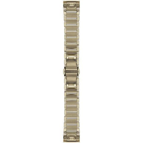 Garmin QuickFit 20mm Goldtone Stainless Steel Band