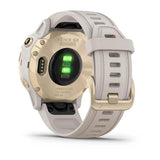 GARMIN Fenix 6S Pro Solar Edition - Light Gold with Light Sand Band