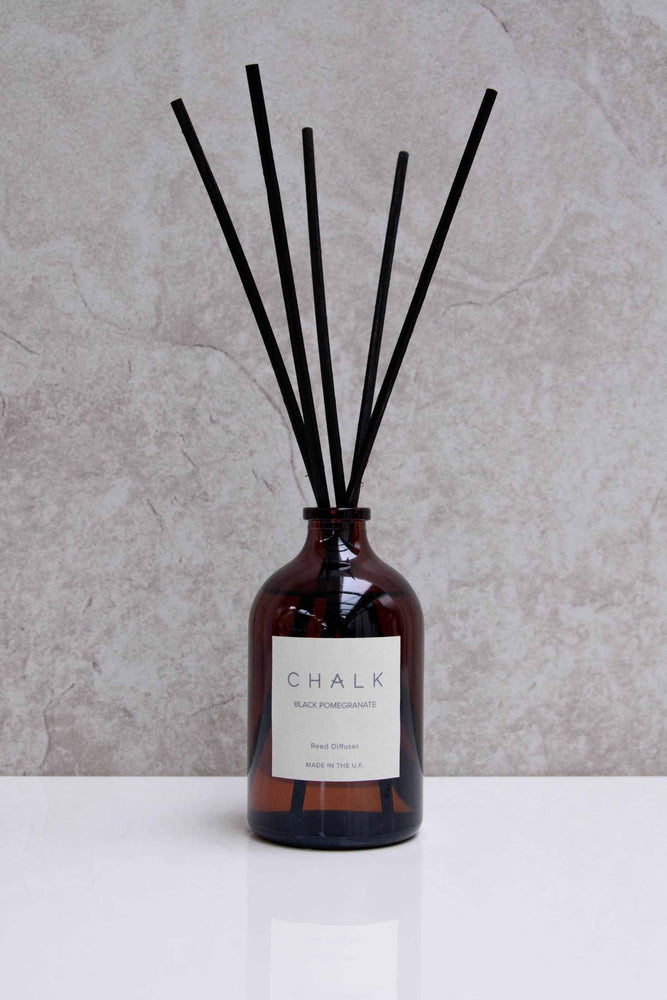 Amber Glass Diffuser | Black Pomegranate