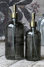 Bottle with 2 Pumps | Coal | 1000 ml