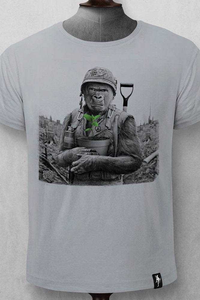 Gorilla Warfare T-Shirt | Grey