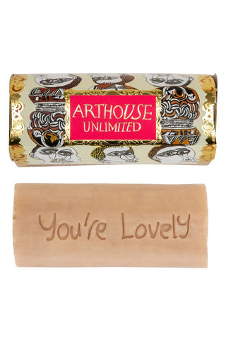 ARTHOUSE Unlimited Figureheads Design Tubular Inscribed Soap