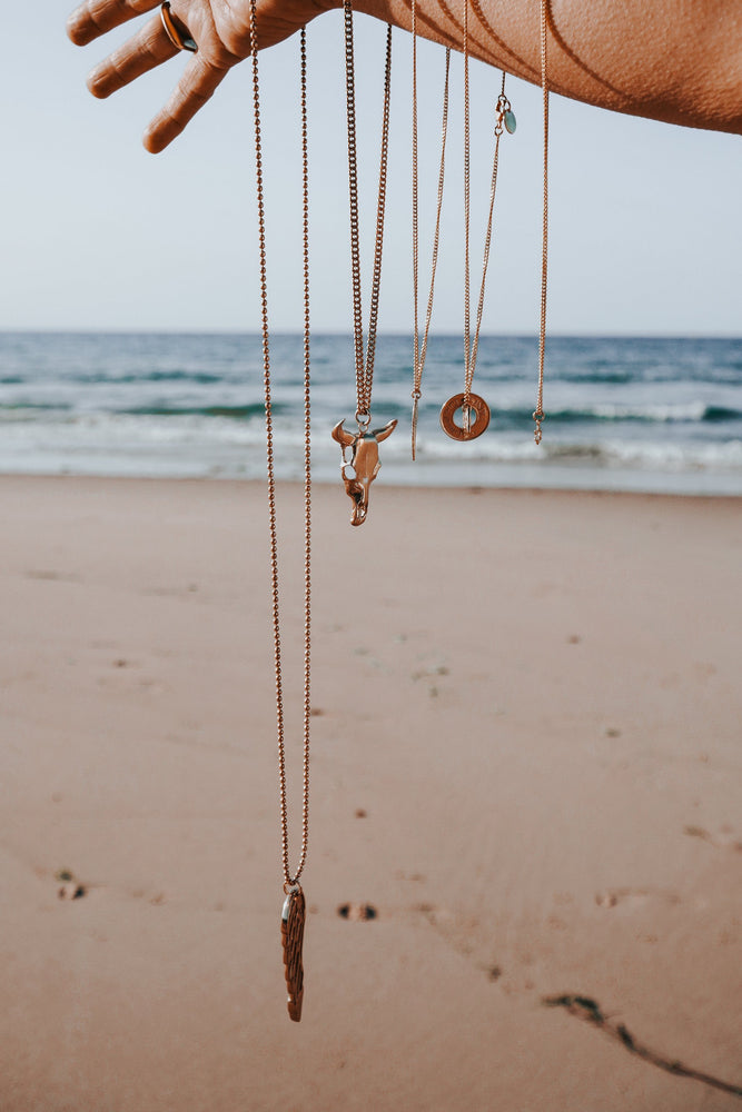 Double Coins Necklace