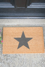 Doormat | Star | Grey