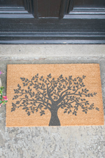 Door Mat | Tree of Life | Grey