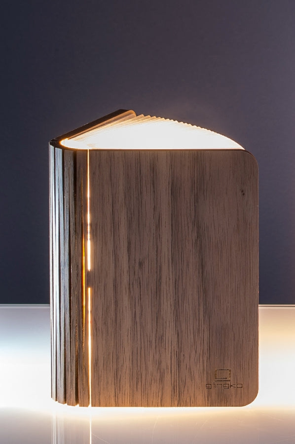 Smart Booklight - Mini | Walnut