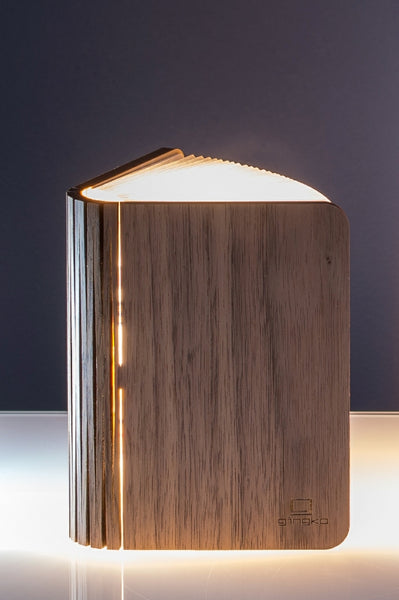 Smart Booklight- Mini - Walnut