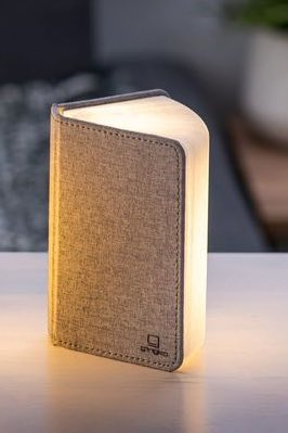 Smart Booklight- Mini - Grey Fabric