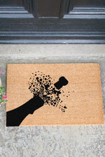 Doormat | Champagne Pop | Black