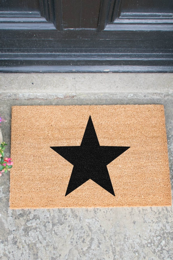 Doormat | Star | Black