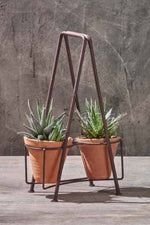 Jara Double Planter Set | 2 Pots