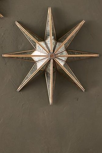 Layla Decorative Glass Star - Large