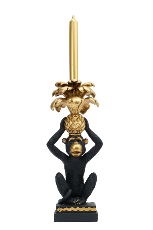 Monkey Candle Stick Holder