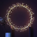 Starburst Wreath 45cm | White