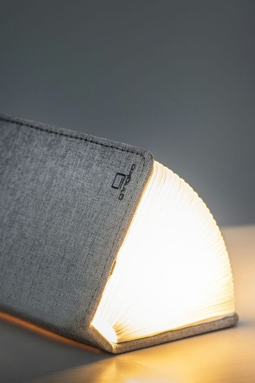 Smart Booklight - Mini | Grey Fabric