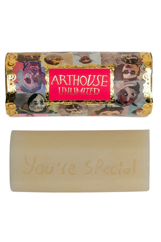 ARTHOUSE Unlimited Portraits Design Organic Soap - Lime, Basil & Mandarin