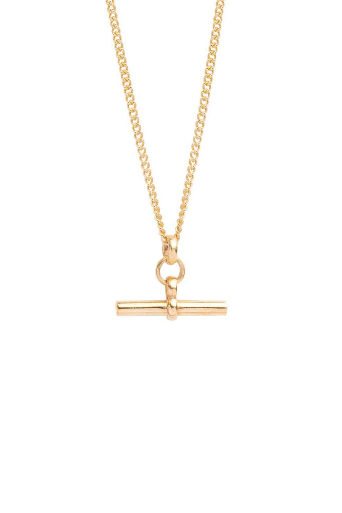 T-Bar Necklace | Gold | 50cm