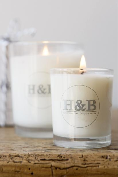 H&B | Hand Poured Soy Candle | Bay and Rosemary