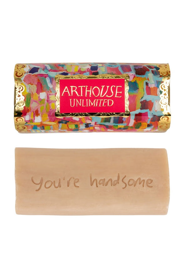 You're Handsome -Tubular Organic Genie Soap - Orange and Vanilla