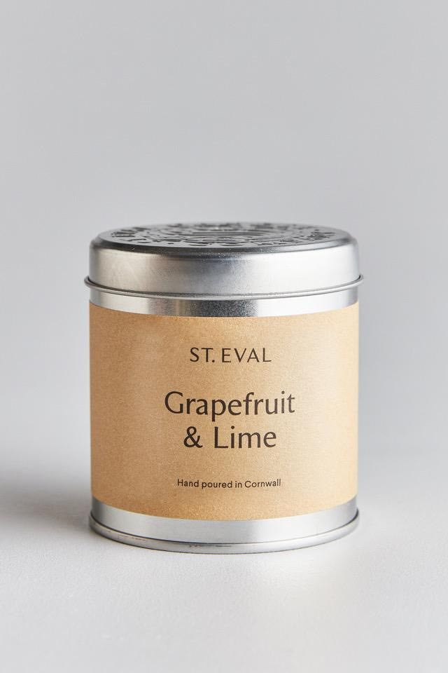 Scented Tin Candle | Grapefruit & Lime