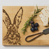 Hare Cheese Board & Knife Set
