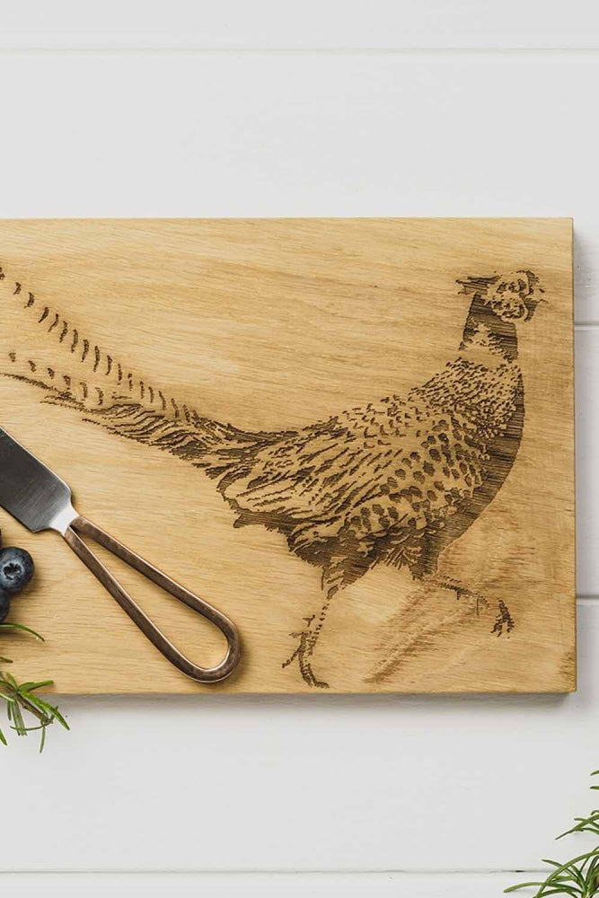 Cheese Board & Knife Set | Pheasant
