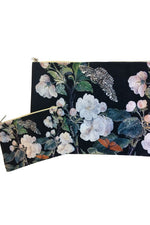 Make-Up Bag with Velvet Pouch - Butterfly