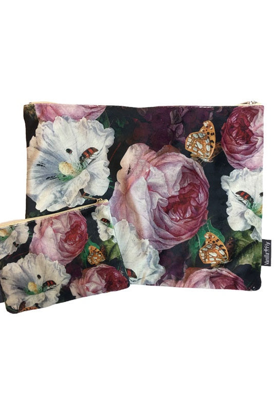 Make-Up Bag with Velvet Pouch | Wildlife