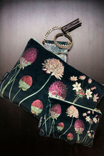 Make-Up Bag with Velvet Pouch | Wild Flowers