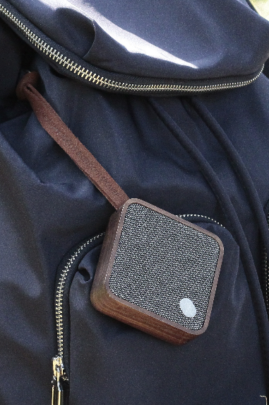 Mi Square Pocket Bluetooth Speaker | Walnut