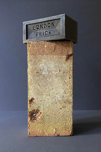 BrickSixty- Smoked Coal Brick Candle