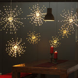 Starburst Led Light - Copper - 50cm Mains