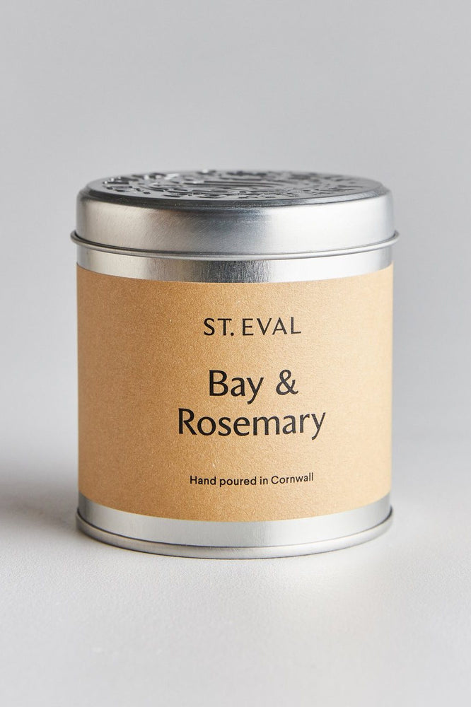 Scented Tin Candle | Bay and Rosemary