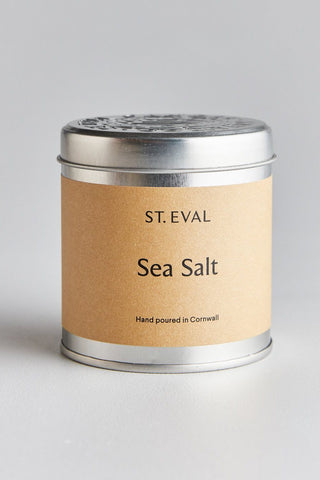 Sea Salt Tin Candle