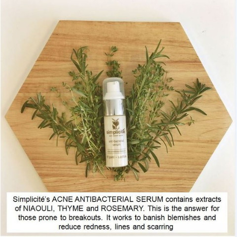 Synergy in natural skin care is unique to Simplicite