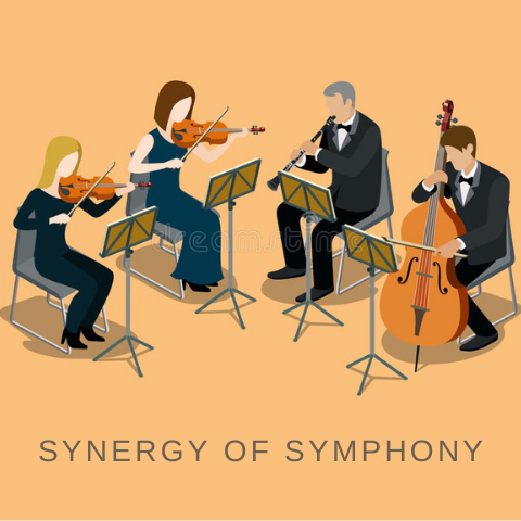 Synergy in natural skin care is like a symphony