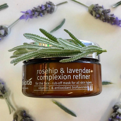 Lavender in natural skin care must be strong and vital