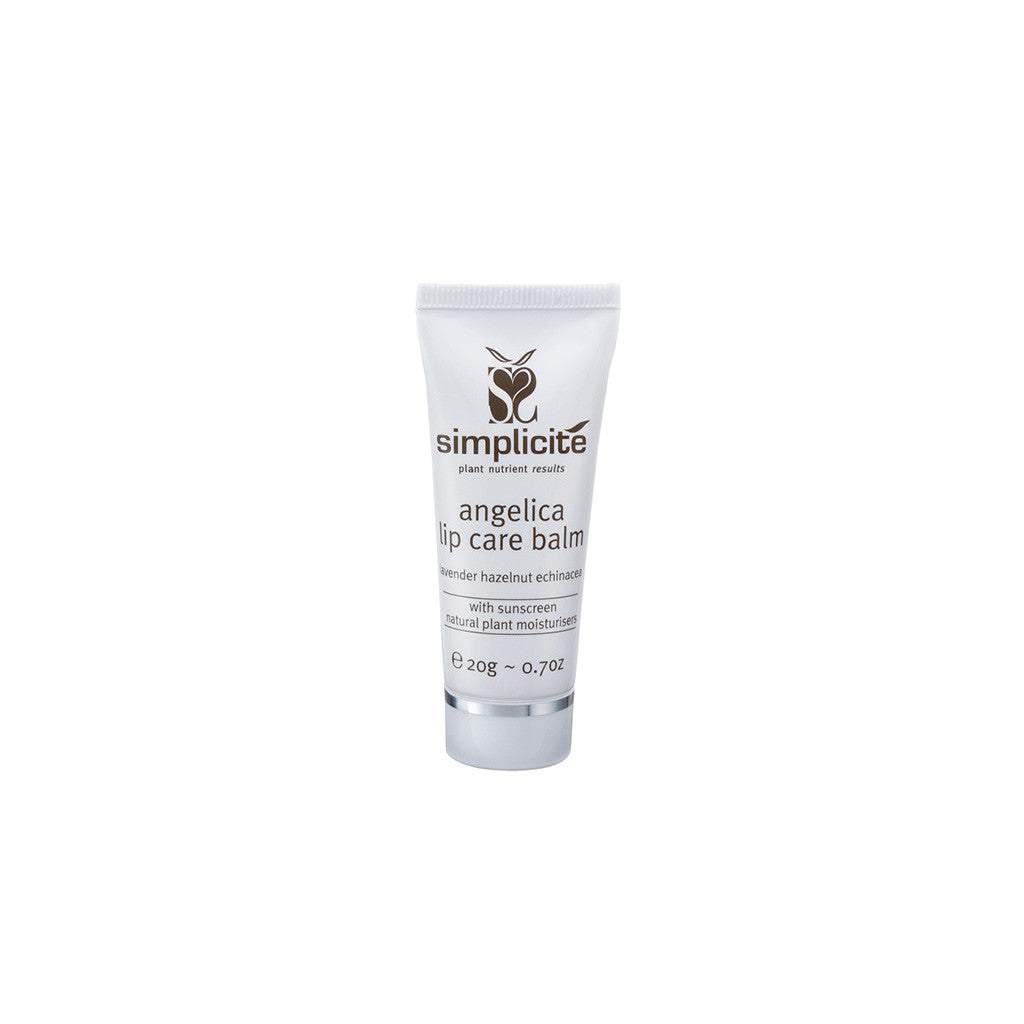 Angelica Lip Care Balm deeply moisturises and soothes chapped dry lips as well as helping to protect from further damage.