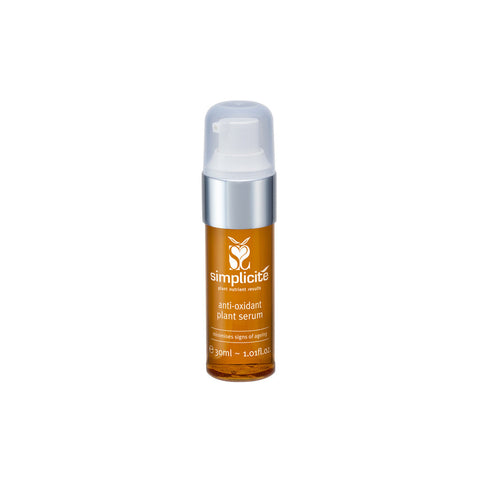 Antioxidant Plant Serum helps to reduce sun damage, gives anti-ageing benefits and improves skin tone and texture.