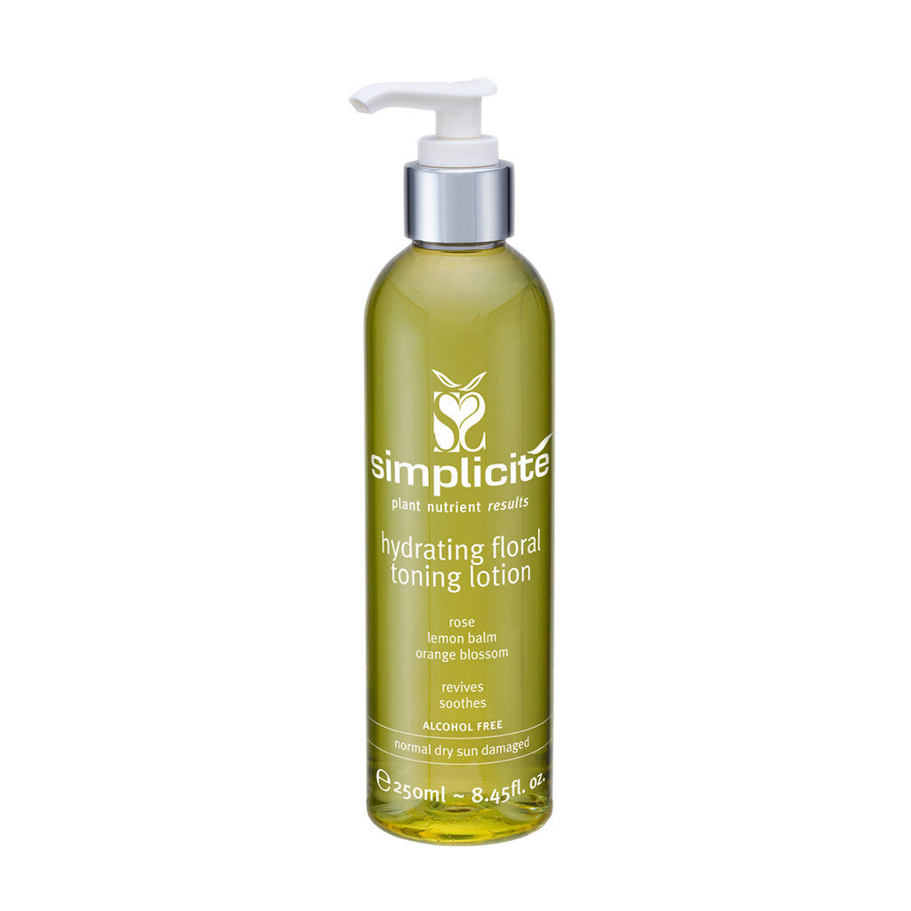 Hydrating Floral Toning Lotion Normal/Dry 250mL