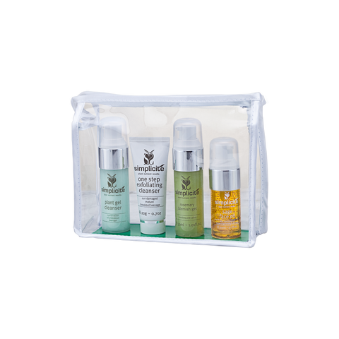 Skin care pack for Teenage Skin, Breakouts and Acne