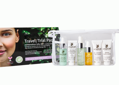 Basic Six Travel/Trial Pack Combination/Oily