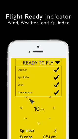 Hover iOS App for Drone Operators