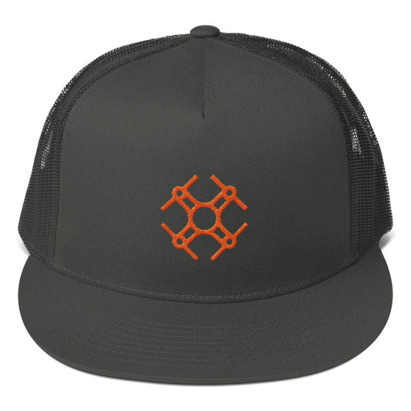 Drone Pilot Mesh Snapback Hat - TagMyDrone - FAA Registration Sticker, FAA Registration Label, FAA Decal, N number