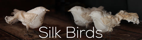 collection silk birds